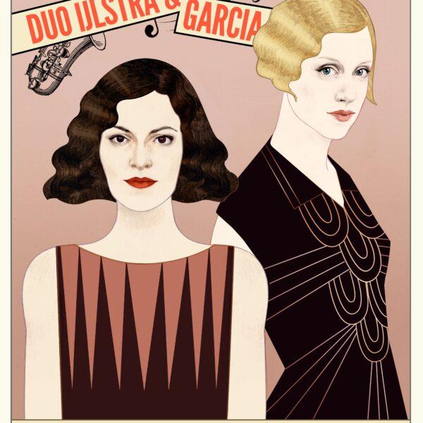 Is jazz music too?. Theatraal concert door Duo IJlstra-García (1)